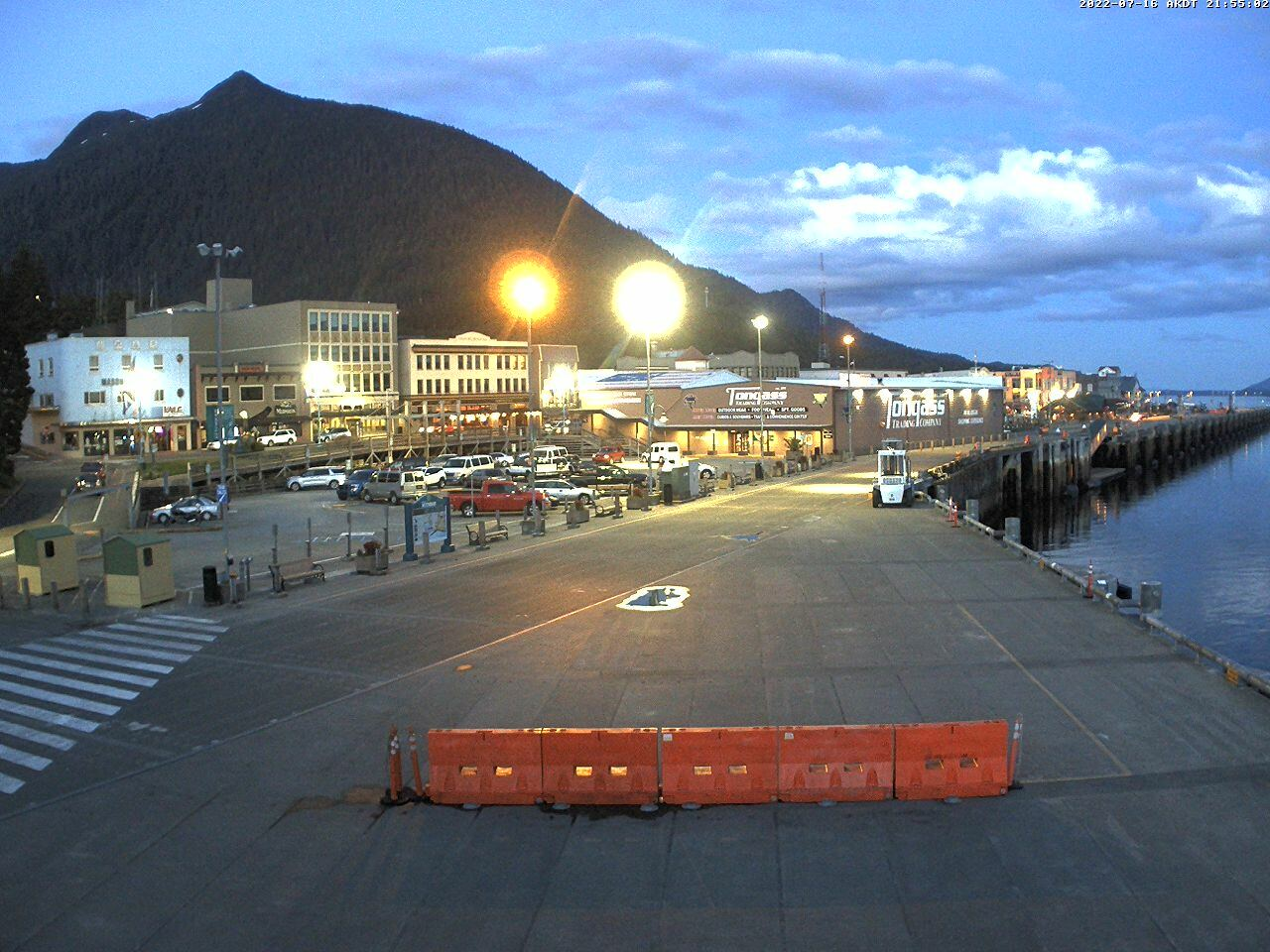 Current Ketchikan Webcam Alaska-sized Image