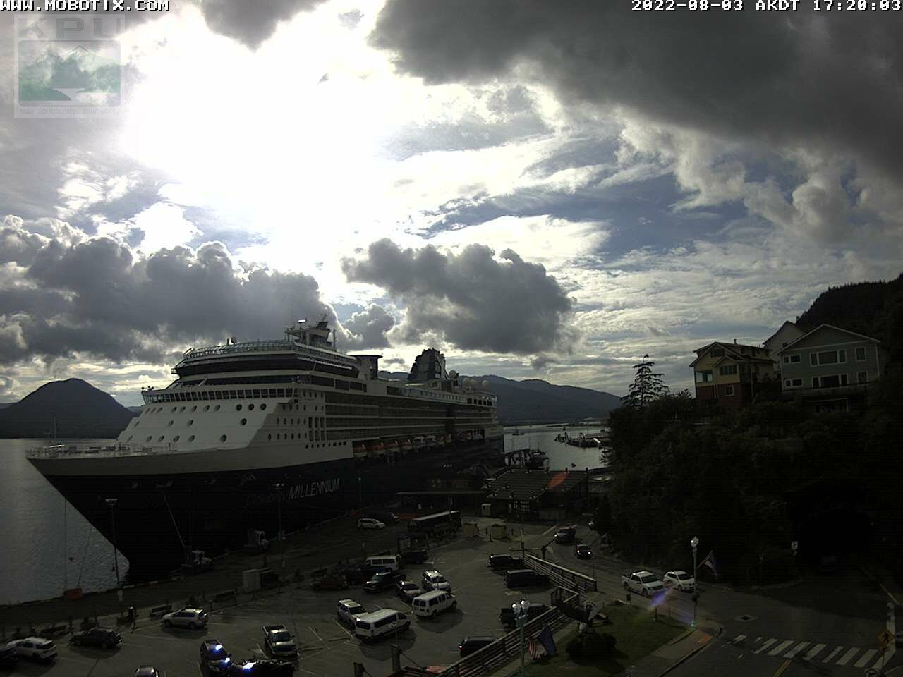 Current Ketchikan Webcam #2 Alaska-sized Image