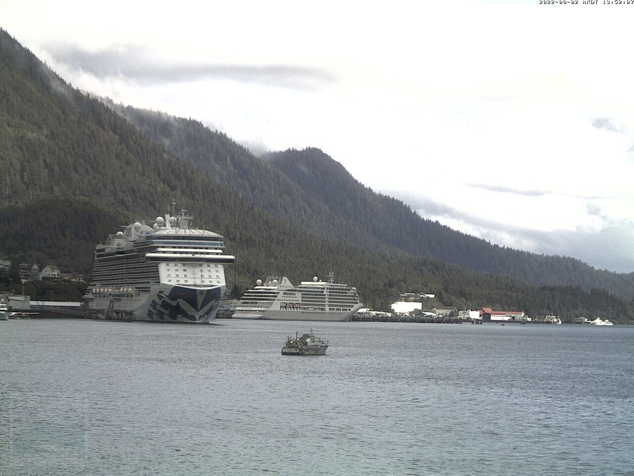 Current Ketchikan Webcam #3 Mega-View Image
