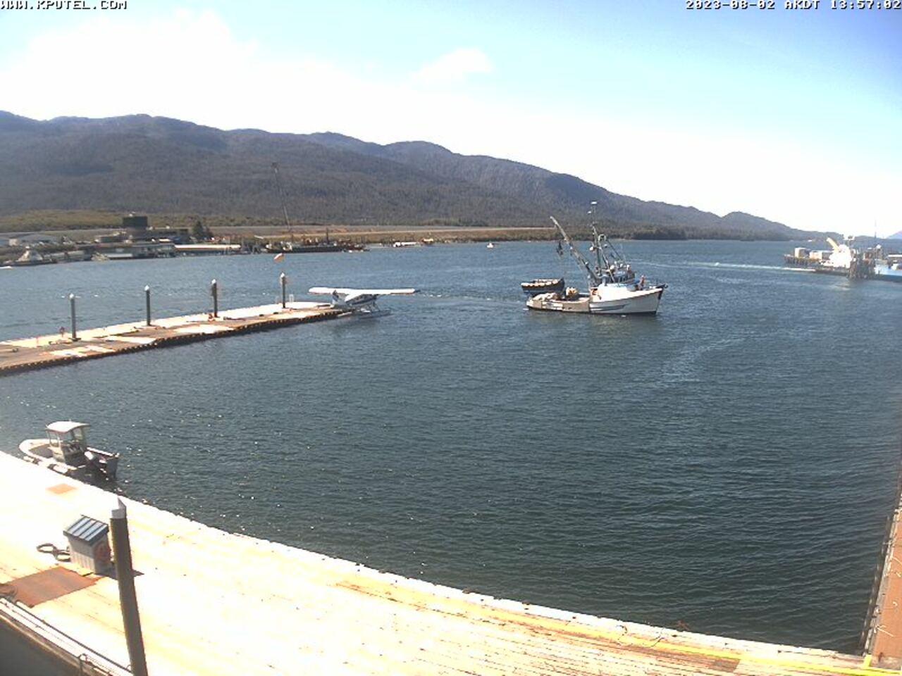 Current Ketchikan Webcam #5 Mega-View Image