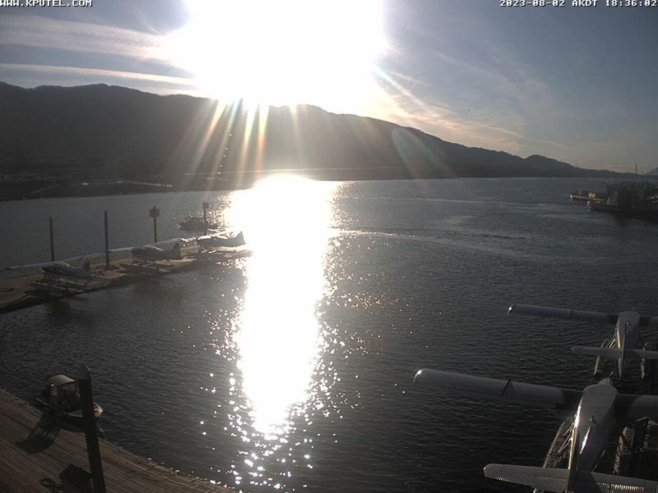 Current Ketchikan Webcam #5 Alaska-sized Image