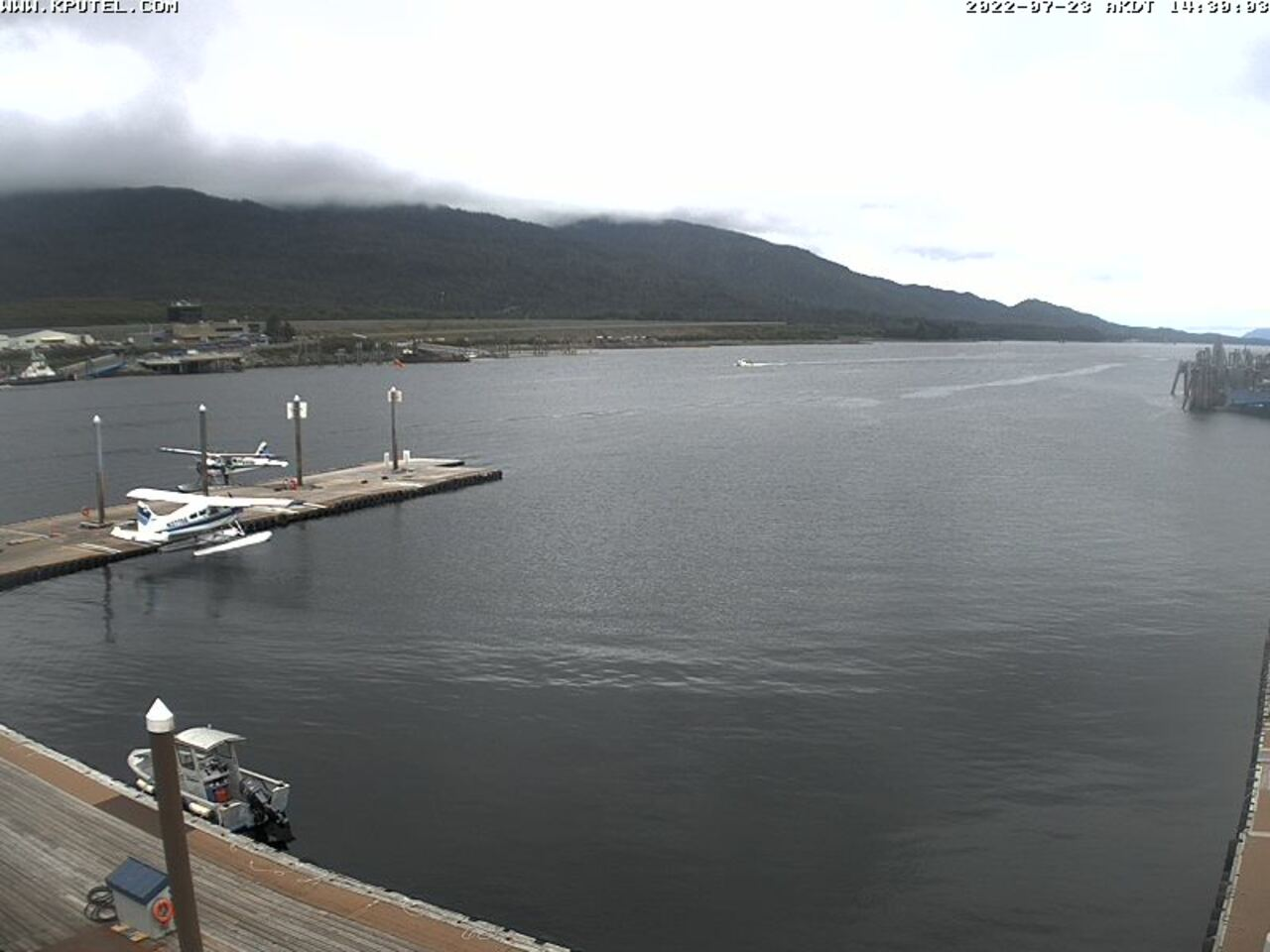 Current Ketchikan Webcam #5 Alaska-sized Image