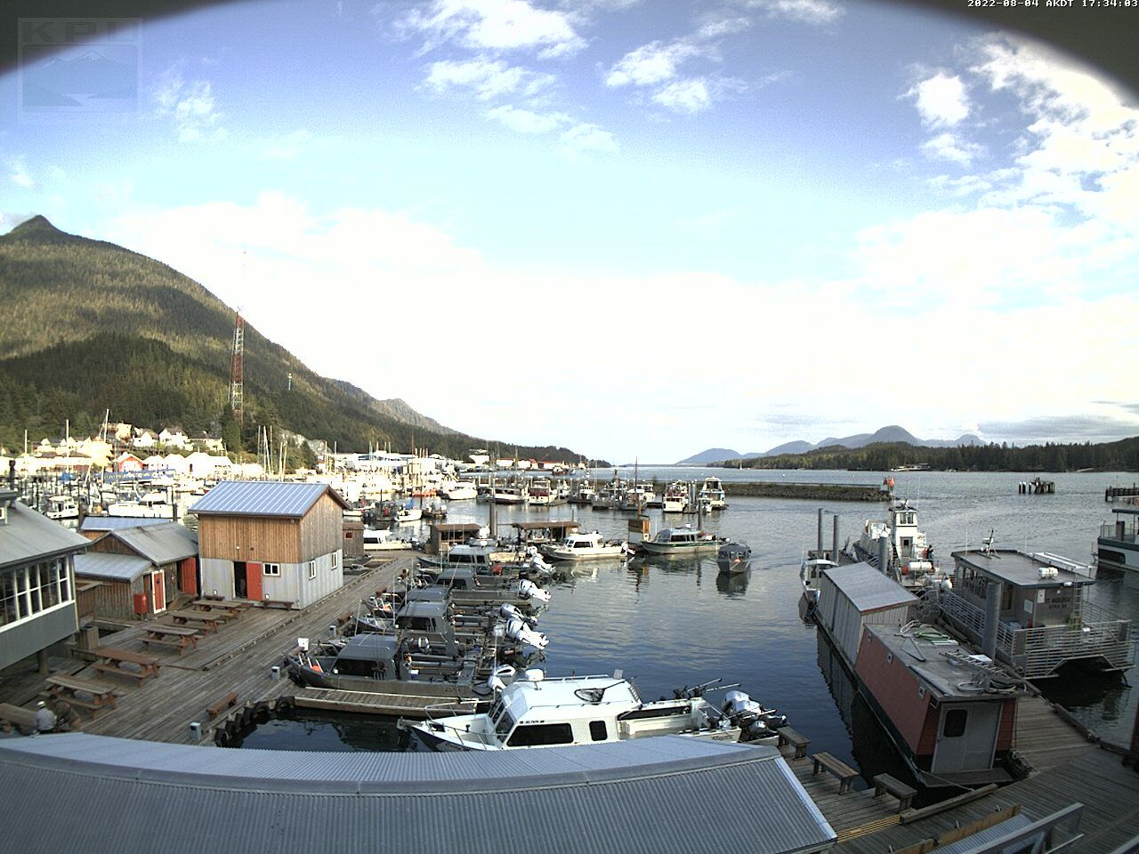 Current Ketchikan Webcam #6 Mega-View Image