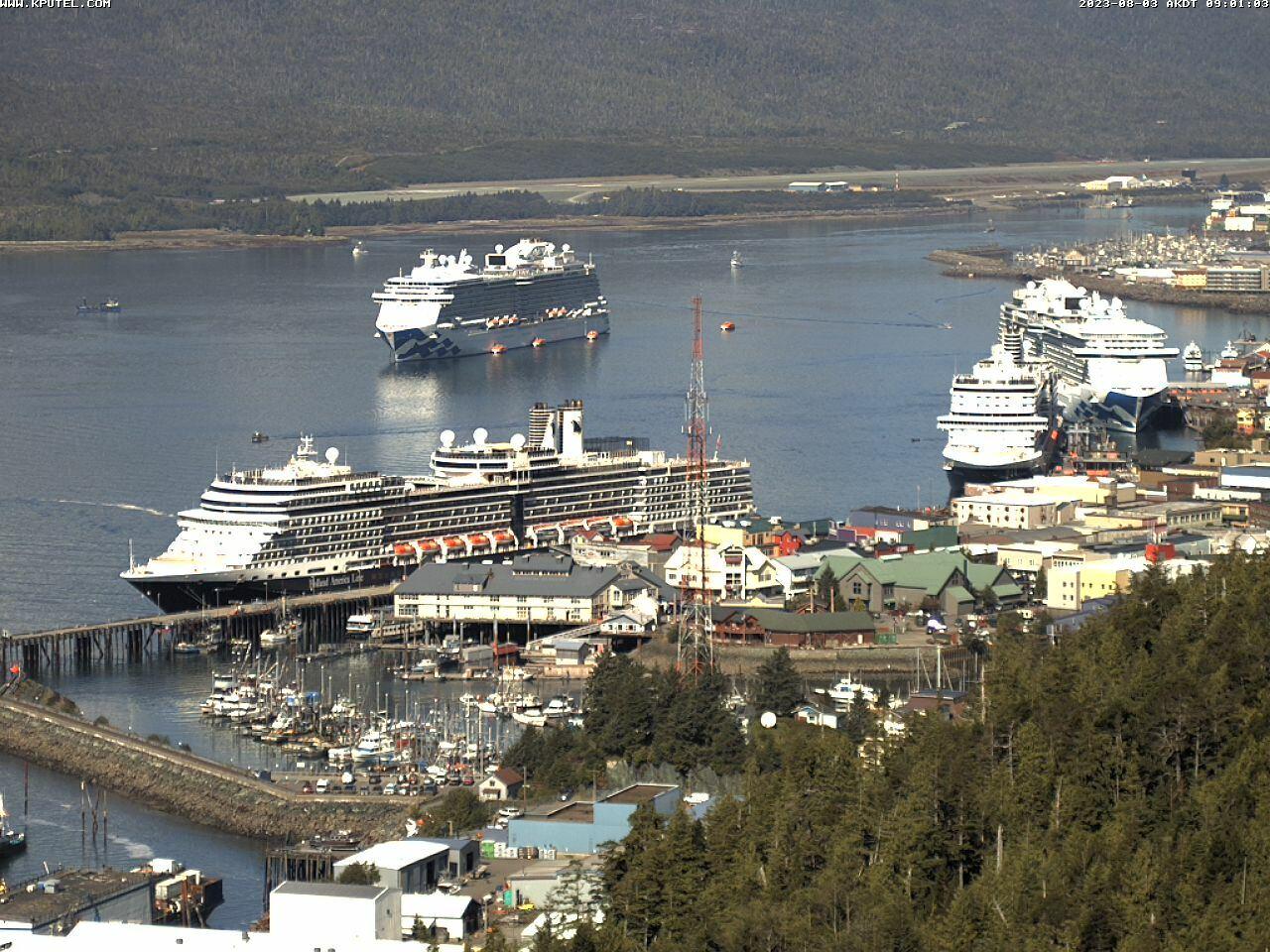 Current Ketchikan Webcam #7 Mega-View Image