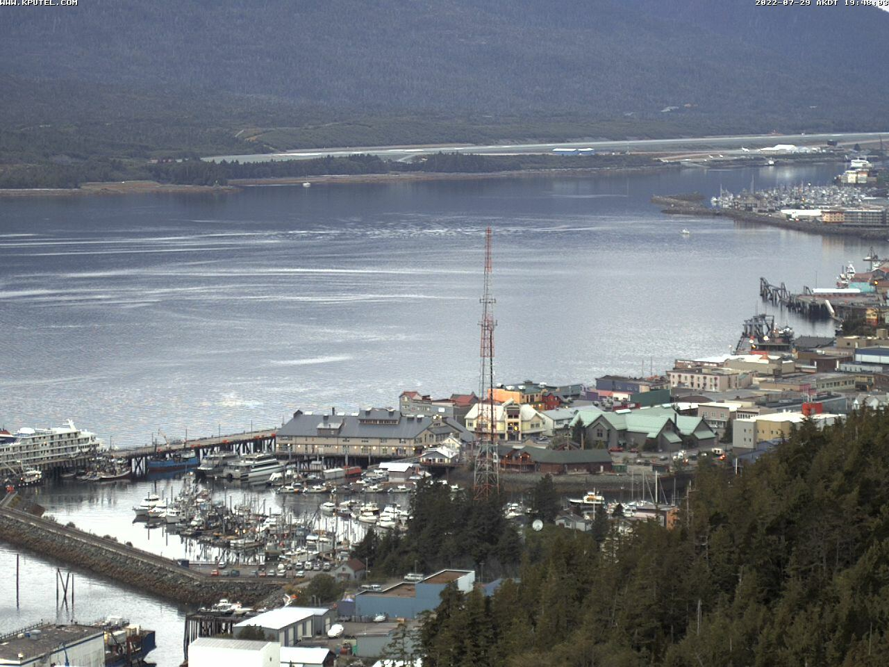 Current Ketchikan Webcam #7 Mega-View Image