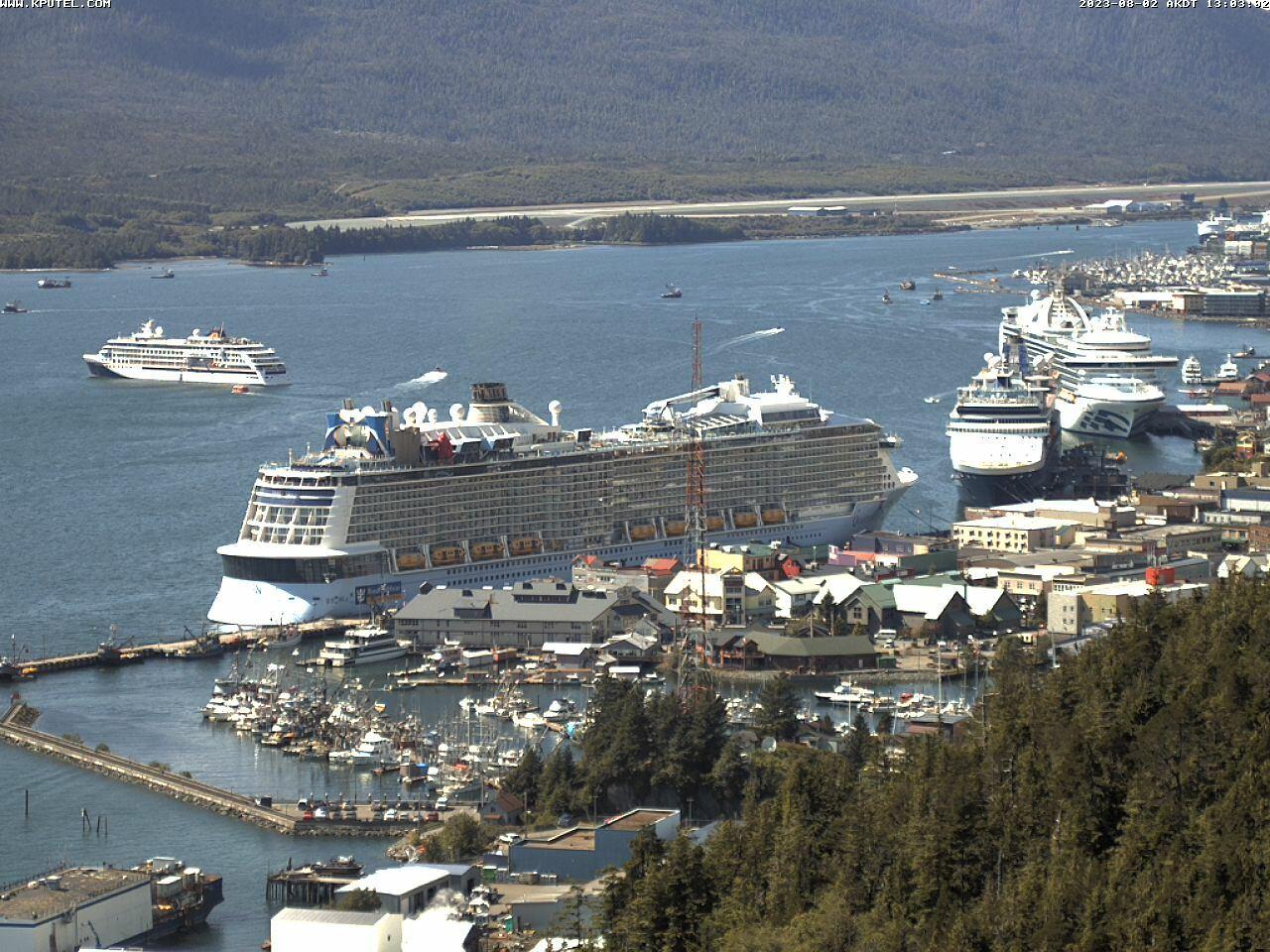 Current Ketchikan Webcam #7 Alaska-sized Image
