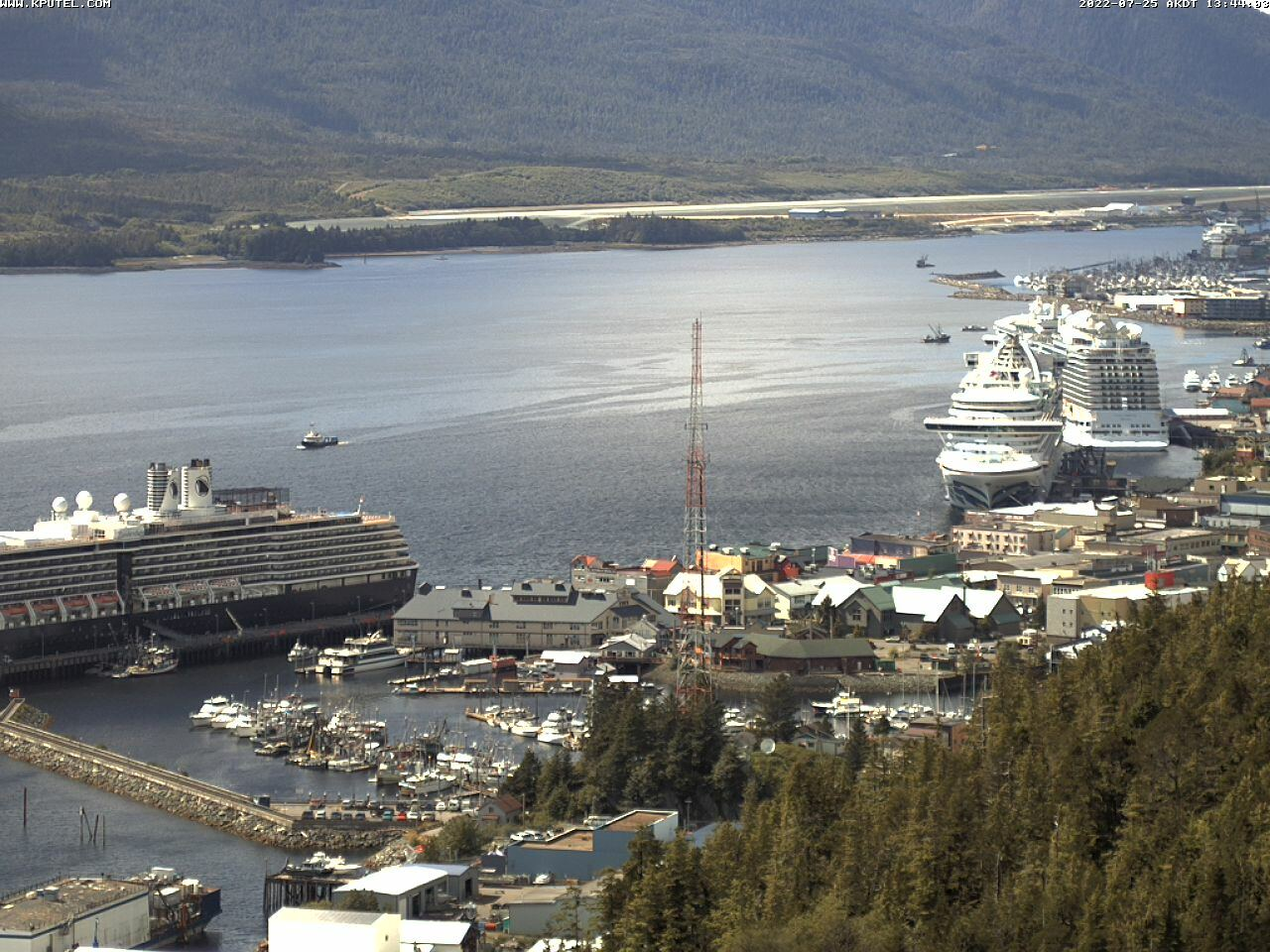 Current Ketchikan Webcam #7 Alaska-sized Image