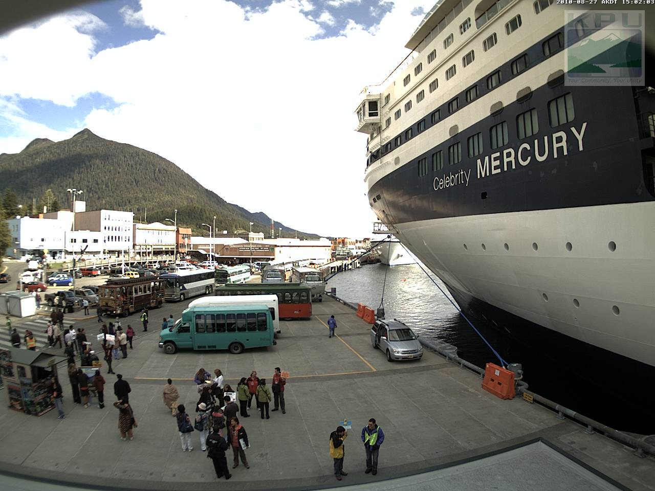 KPU Ketchikan Webcam - Webcams on cruise ships